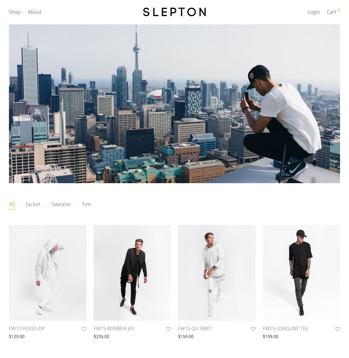 SLEPTON layout premium web design Rochester NY